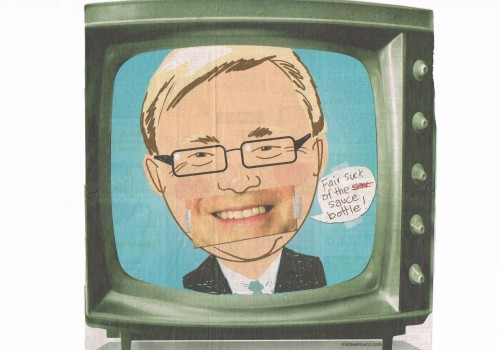 Cartoon Rudd by Mucci