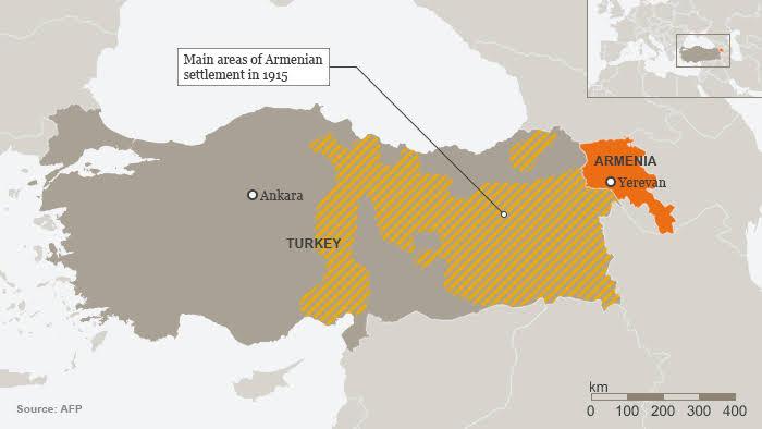 Armenian settlement 1915
